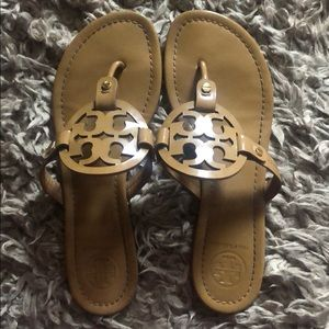 Tory Burch Miller sandals, size  9.5